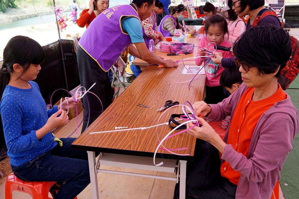 綠色博覽會綠競場手工編織